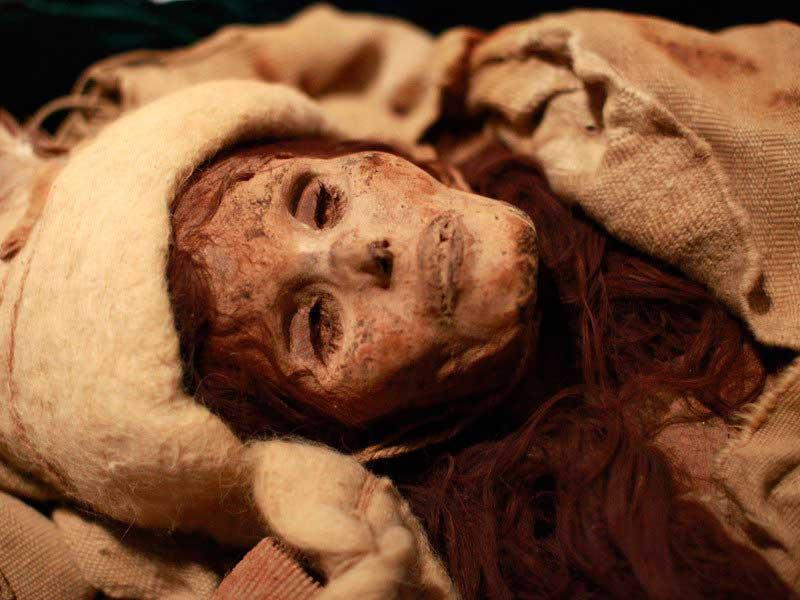 La Bella Xiaohe, 3800 años.