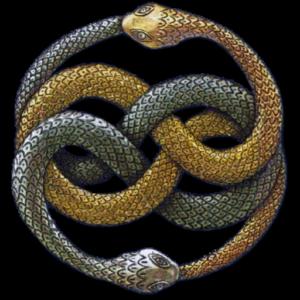 las serpientes del logo